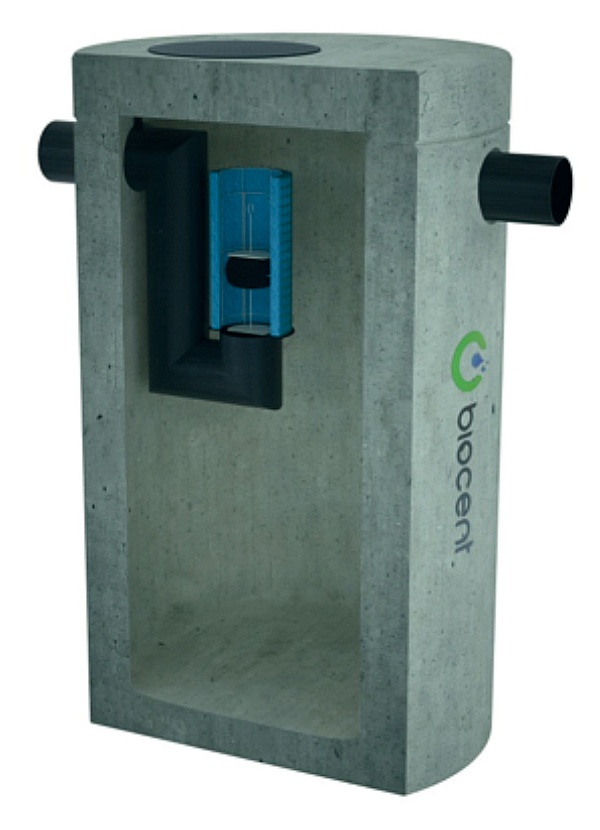 Coalescence Separator from concrete BIOSEP-C